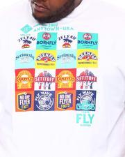 Born Fly - Swaying Palms T-Shirt (B&T)-2666444