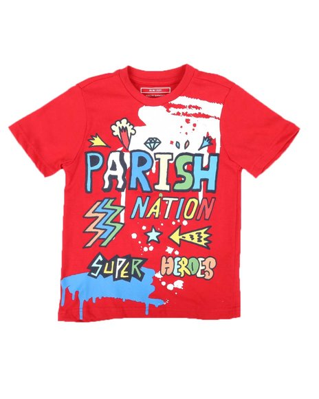 Parish - Doodle Parish Print Tee (4-7)