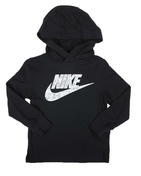 Nike - Digital Confetti Hooded T-Shirt (2T-4T)