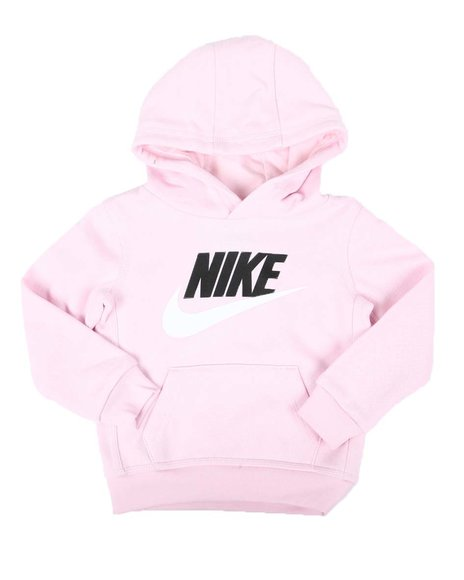 Nike - Logo Pullover Hoodie (2T-4T)