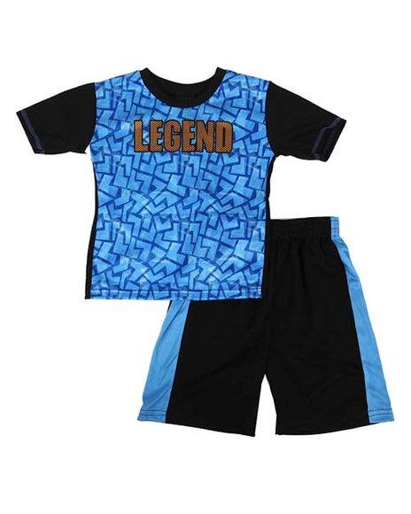 Arcade Styles - 2 pc Legend Printed Tee & Shorts Set (4-7)
