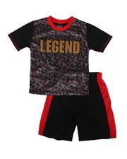 Arcade Styles - 2 pc Legend Printed Tee & Shorts Set (4-7)-2665826
