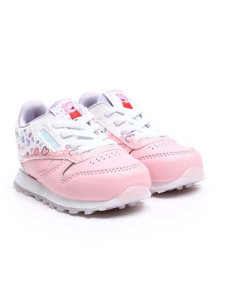 Reebok - Reebok x Peppa Pig Classic Leather Sneakers (5-10)
