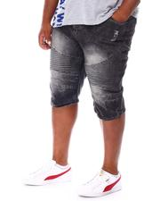 Buyers Picks - Moto Knee Rip & Tear Denim Shorts (B&T)-2667930