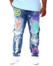 SWITCH - Graffiti Denim Jeans (B&T)-2668636