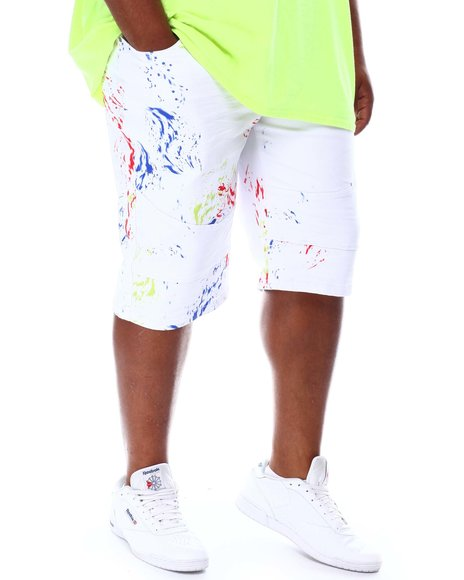 A Tiziano - Aaron Splatter Shorts (B&T)