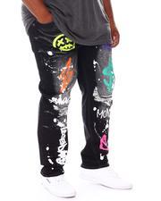 SWITCH - Graffiti Denim Jeans (B&T)-2668650