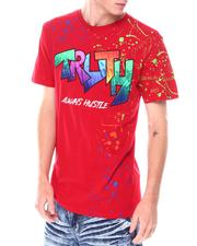 SWITCH - Truth GRADIENT PATCHED TEE WITH SPLATTER Tee-2668745
