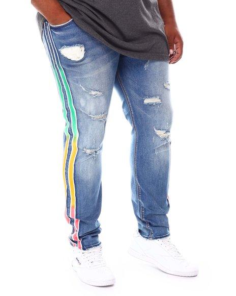 AKOO - Nature Side Stripe Jeans (B&T)