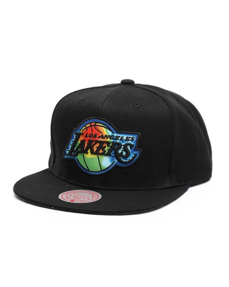 Mitchell & Ness - Los Angeles Lakers Thermal Map Snapback Hat