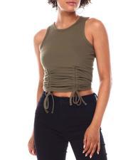 Fashion Lab - Tank W/Double Side Ruching-2668328