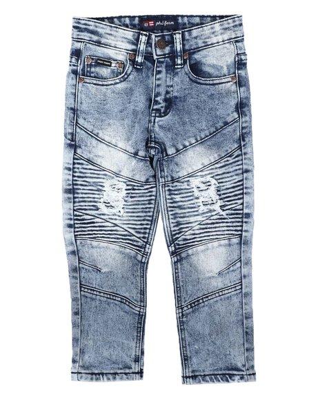 Phat Farm - Cut & Sew Skinny Stretch Jeans (4-7)