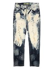 Jeans - Bleached Two Tone Jeans (8-18)-2666251
