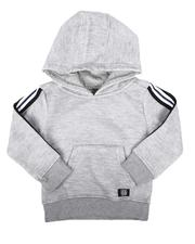 Hoodies - Nylon Tapped Pullover Hoodie (2T-4T)-2666421