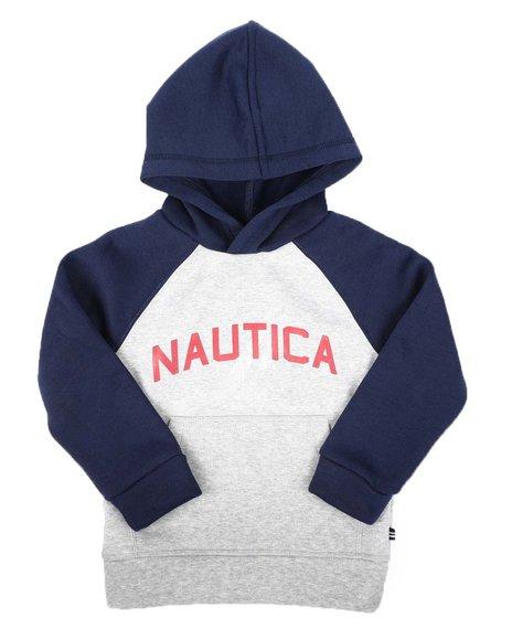 Nautica - Raglan Long Sleeve Pullover Hoodie (4-7)