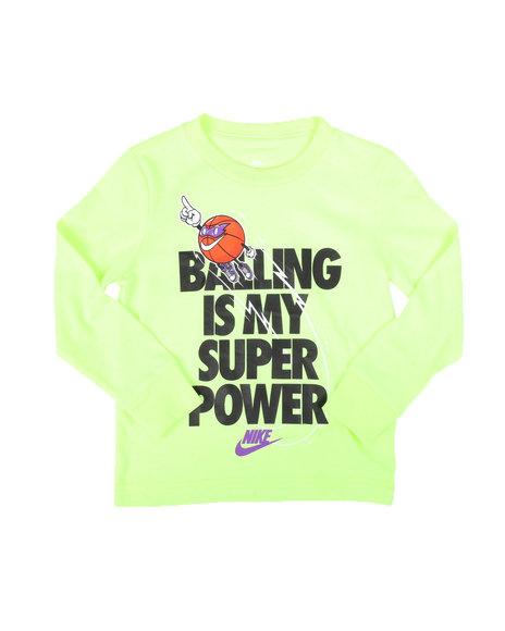 Nike - Balling Graphic T-Shirt (2T-4T)