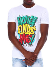 OUTRANK - Money Finds Me Tee-2669557