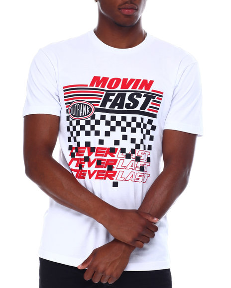 OUTRANK - Movin' Fast Tee