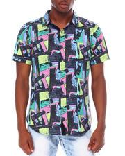 Spring-Summer - 80s Geo SS Woven Shirt-2669643