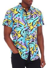 Spring-Summer - Abstract SS Woven Shirt-2669605