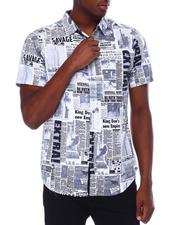 Spring-Summer - Newsprint SS Woven Shirt-2669627