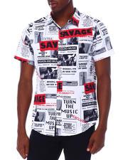 Spring-Summer - Savage Newprint SS Woven Shirt-2669669