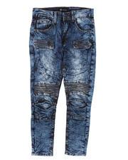 Jeans - Moto Denim Jeans W/ Zippers (8-20)-2667236