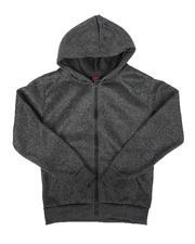 Hoodies - Fleece Full Zip Hoodie (8-18)-2666474
