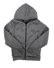 Hoodies - Fleece Full Zip Hoodie (8-18)-2666500