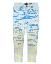 Shorts - All Over Paint Pattern Jeans (8-20)-2667054