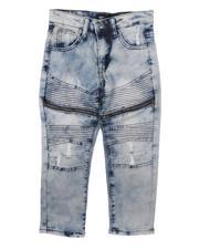 Sizes 4-7x - Kids - Distressed Moto Jeans (4-7)-2667173