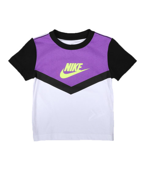 Nike - Color Block Graphic T-Shirt (2T-4T)