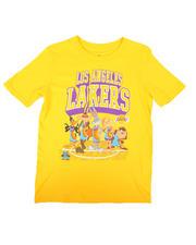 NBA MLB NFL Gear - NBA x Space Jam Lakers-Tunes On Court Tee (8-20)-2670653