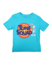 Tops - NBA x Space Jam Tune Squad Logo Front Tee (2T-4T)-2670673