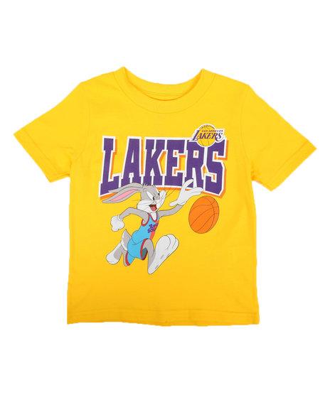 NBA x SPACE JAM - NBA x Space Jam Lakers-Big Time Team Tee (2T-4T)