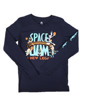 Tops - NBA x Space Jam All In Long Sleeve Tee (8-20)-2670704