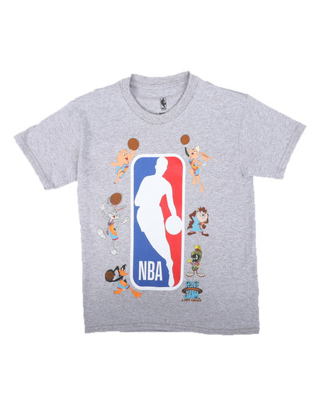 NBA x SPACE JAM - NBA x Space Jam Squad Up NBA Tee (8-20)