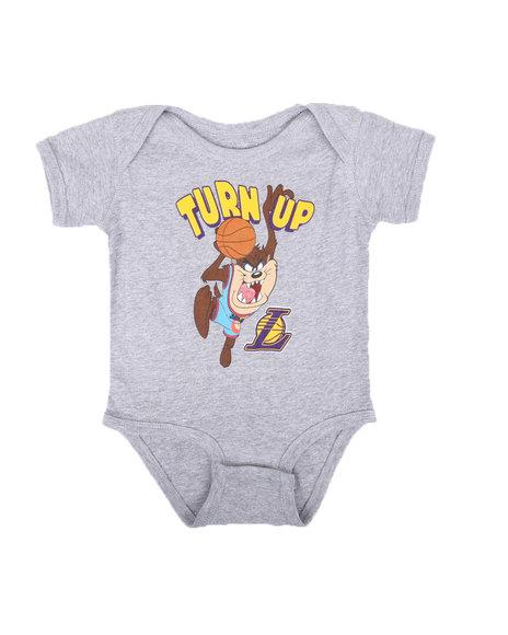 NBA x SPACE JAM - NBA x Space Jam Lakers-Turn Up Taz Bodysuit Creeper (Infant)