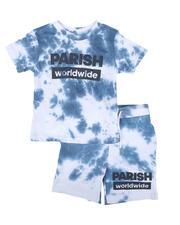 Parish - 2 Pc Tie Dye Tee & Shorts Set (4-7)-2669774
