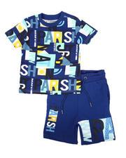 Parish - 2 Pc All Over Print T-Shirt & Shorts Set (2T-4T)-2669896