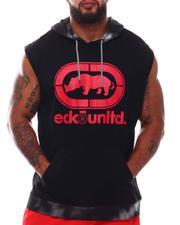 Ecko - Star Burst Muscle Hooded Knit Top (B&T)-2669960