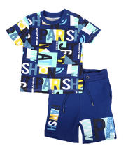 Sets - 2 Pc All Over Print T-Shirt & Shorts Set (4-7)-2670053