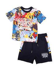 Parish - 2 Pc All Over Print Shirt & Short Set (Infant)-2669713