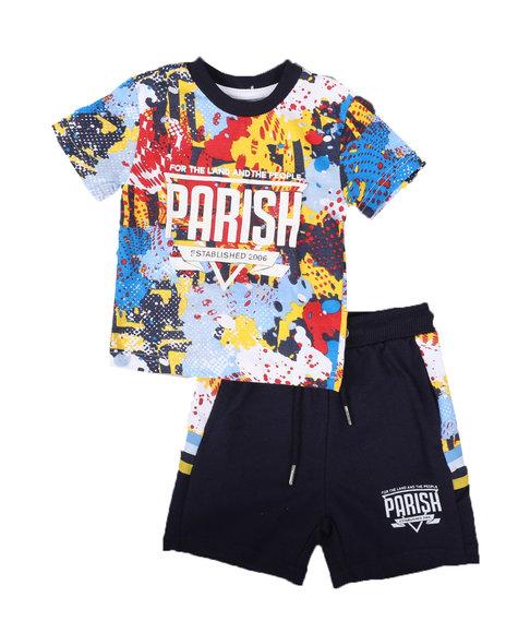 Parish - 2 Pc All Over Print Shirt & Short Set (Infant)
