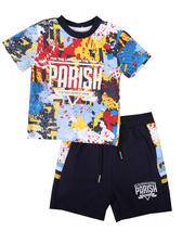 Sets - 2 Pc All Over Print Shirt & Short Set (8-20)-2669717