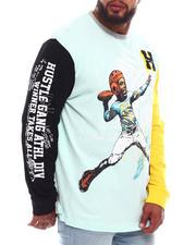 Hustle Gang - Face Mask Long Sleeve Knit Shirt (B&T)-2670040
