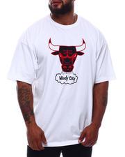 Mitchell & Ness - Bulls HWC Logo Screen T-Shirt (B&T)-2670861