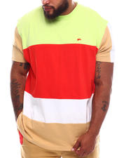 A Tiziano - Daniel Colorblock T-Shirt (B&T)-2670199