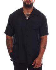Button-downs - Solid Cuban Shirt (B&T)-2669921