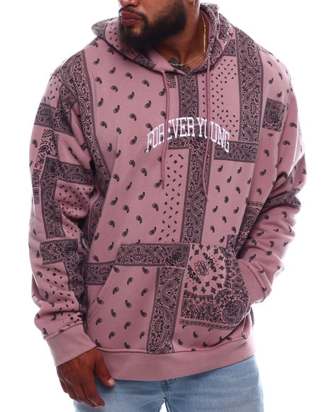 Brooklyn Cloth - Forever Young Bandana Hoodie (B&T)